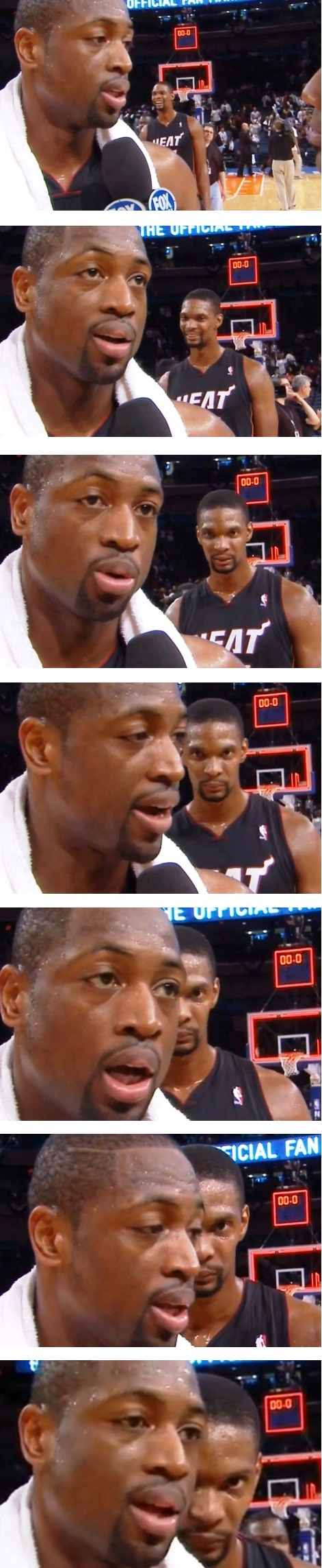 Chris Bosh Videobomb Remix Filmstrip